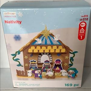 Nativity foam craft kit